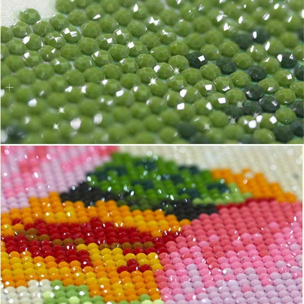Onbay1 DIY Landscape Embroidery Rhinestone Painting Cross Stitch Drill Wall Decoration Paintings