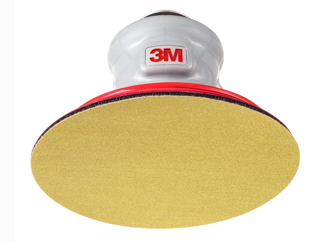 Hookit Aluminum Oxide 6 Diameter P80 Grit Pack of 50 Paper Disc 236U Hook and Loop Attachment C-Weight TM 3M Gold TM