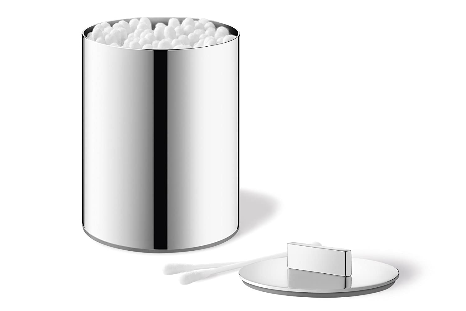 4.3 x 3 /ø 3.0 in 4.3 in Cotton Buds h Zack 40323 Original AVOR Canister high Gloss Suitable f with Handle