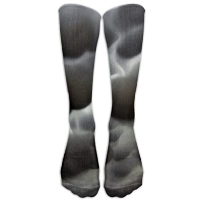 High Boots Crew Cloud Landscape Compression Socks Comfortable Long Dress For Men Women