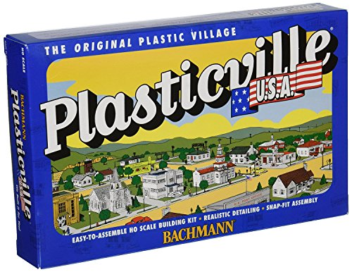 PLASTICVILLE CLASSIC KIT - SPLIT-LEVEL HOUSE -- 2-7/8 X 6-1/8