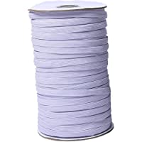 Cinta elástica ancha con cuerda elástica para coser