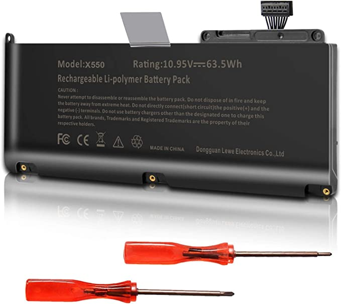 A1331 Battery For A1331 A1342 Apple Macbook Unibody 13 Inch Late 2009 Mid 2010 Fits 661 5391 661 5585 Mc207ll A Mc516ll A 10 95v 63 5wh Amazon Ca Electronics
