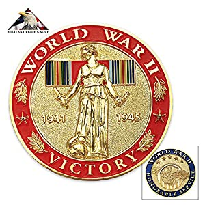 World War II Honorable Service Challenge Coin