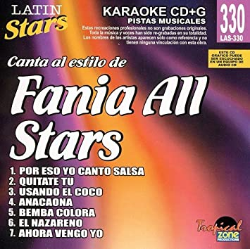 Fania All Stars - Karaoke: Fania All-Stars - Latin Stars Karaoke - Amazon.com Music