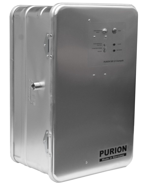 Tropenbox Wasserfilter Trinkwasserentkeimer 400 l/h Phtotovoltaik UV Anlage Trinkwasserfilter sauberes Wasser