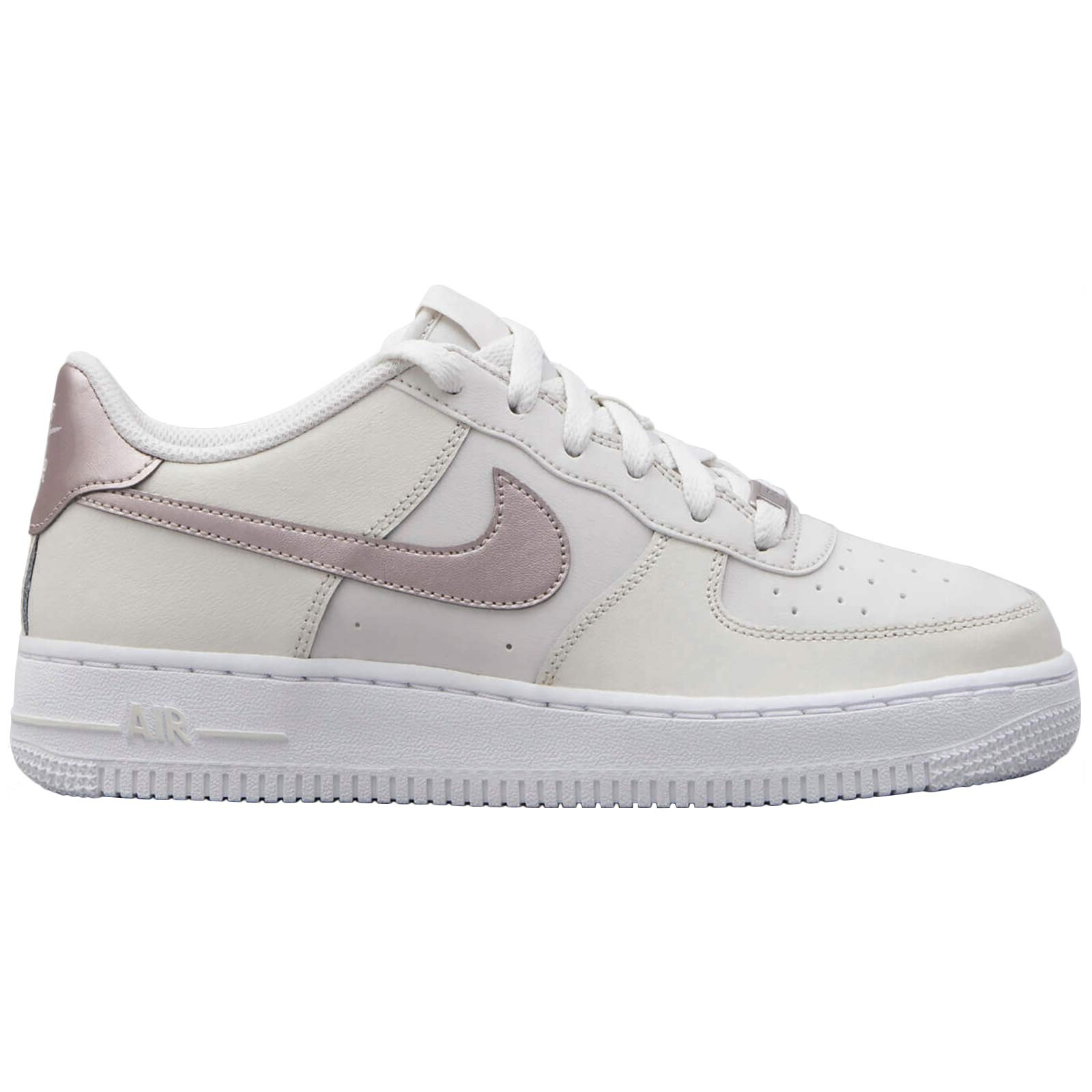 wholesale dealer a9c78 64c53 Galleon - Nike Youth Air Force 1 Leather Synthetic Phantom Metalic ...