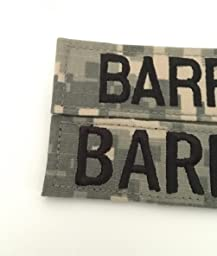 custom uniform name tapes 50 fabrics to choose from made in the usa ships under. Black Bedroom Furniture Sets. Home Design Ideas