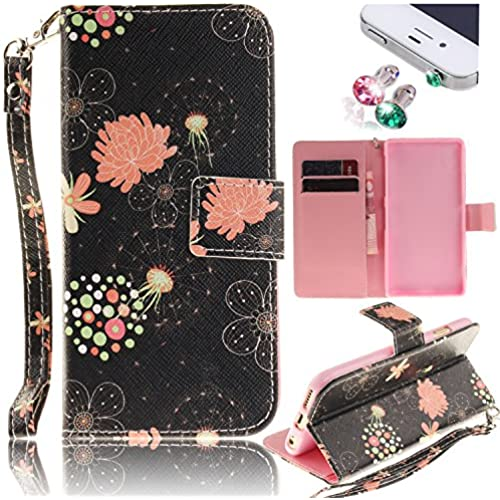Galaxy S7 Edge Case, Pershoo Stand Function Cash Compartment Card Slots Book PU Leather Flip Folio Magnetic Closure Sales