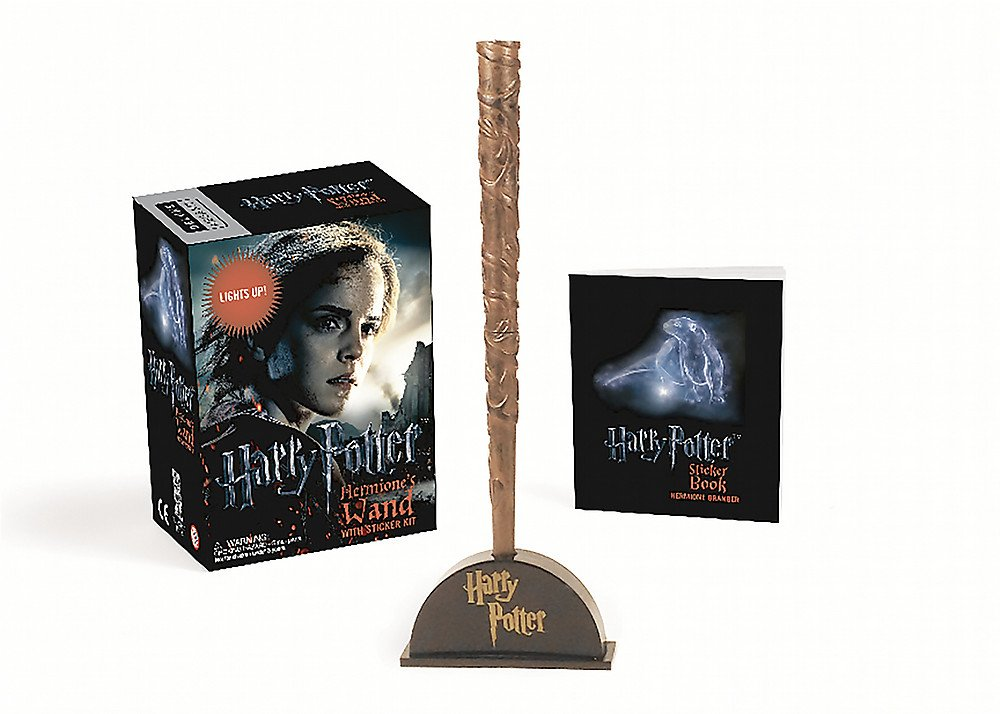 Download Harry Potter Hermione's Wand with Sticker Kit: Lights Up! (Miniature Editions) PDF Text fb2 ebook