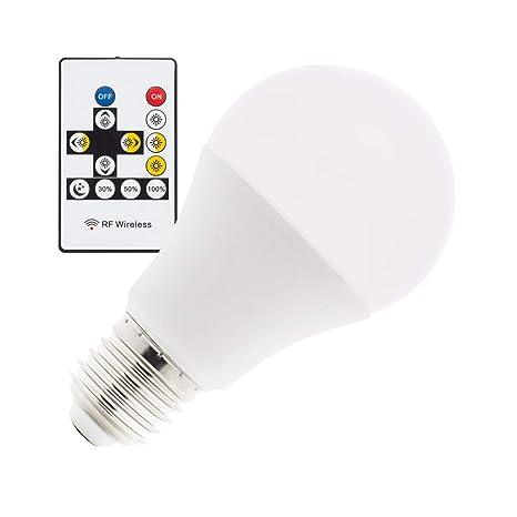 Bombilla LED Tª Color Seleccionable E27 Regulable A60 9W Seleccionable (Cálido-Neutro-Frío