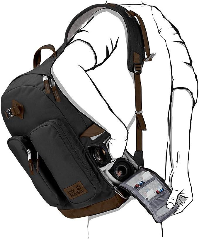 Jack Wolfskin jack wolfskin 7 dials photo pack rucksack