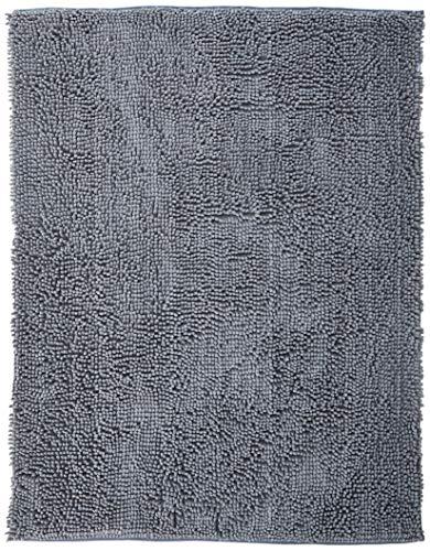Chenille Rug - DRI Chenille Area Rug 47 x 36 in Gray