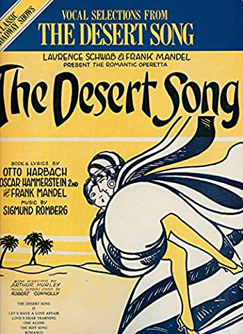 Vocal Selections from The Desert Song (Classical Broadway Shows) - Broadway Classical Sheet Music