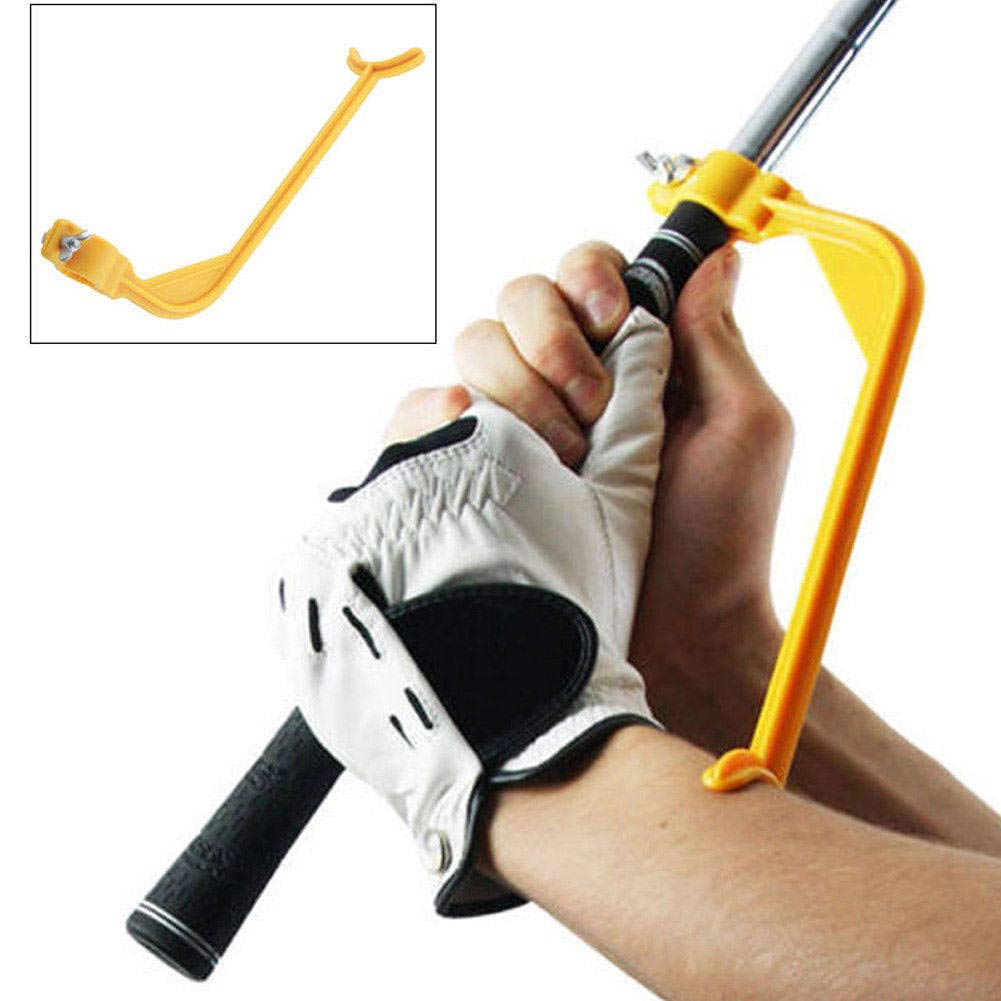 TOBABYFAT Golf Swing Swinging Swing Training Aid Tool Trainer Wrist Control Gesture Gam Party Holiday DIY Decorations Golf Accessories
