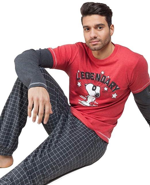 Pijama de Invierno para Hombre de Snoopy (M)