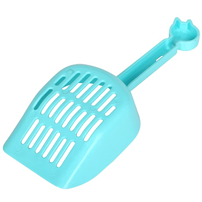 Amazon.com : Digi-Flex DIGIFLEX Blue Easy Clean Plastic Cat Litter Scoop No Fuss Compact Shovel for Pet Waste : Pet Supplies