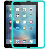 ESR iPad Air/Air2/Pro9.7/iPad 2017 9.7インチ用 ブルーライトカット 液晶保護 三倍強化ガラスフィルム 日本製旭硝子素材採用 硬度9H iPad Air/Air2 iPad Pro9.7/2017 9.7インチ専用 貼り付け枠付き