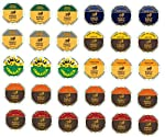 30 Count - Variety Marley single serve K-cups For Keurig k Cup Brewers and 2.0 Brewers - (8 different flavors) made by keurig