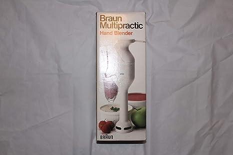 Amazon.com: Braun multipractic Batidora de mano mr30 ...