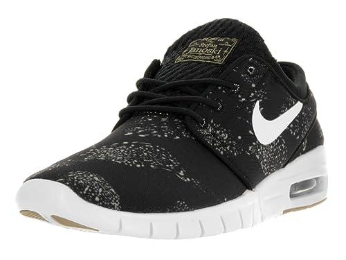1a3e1d54d9bd5 Nike Men's Stefan Janoski Max Obsidian/White Skate Shoe 631303-411