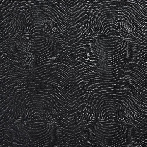 Stingray Costume Pattern (G887 Black Stingray Look Faux Leather Vinyl By The Yard)