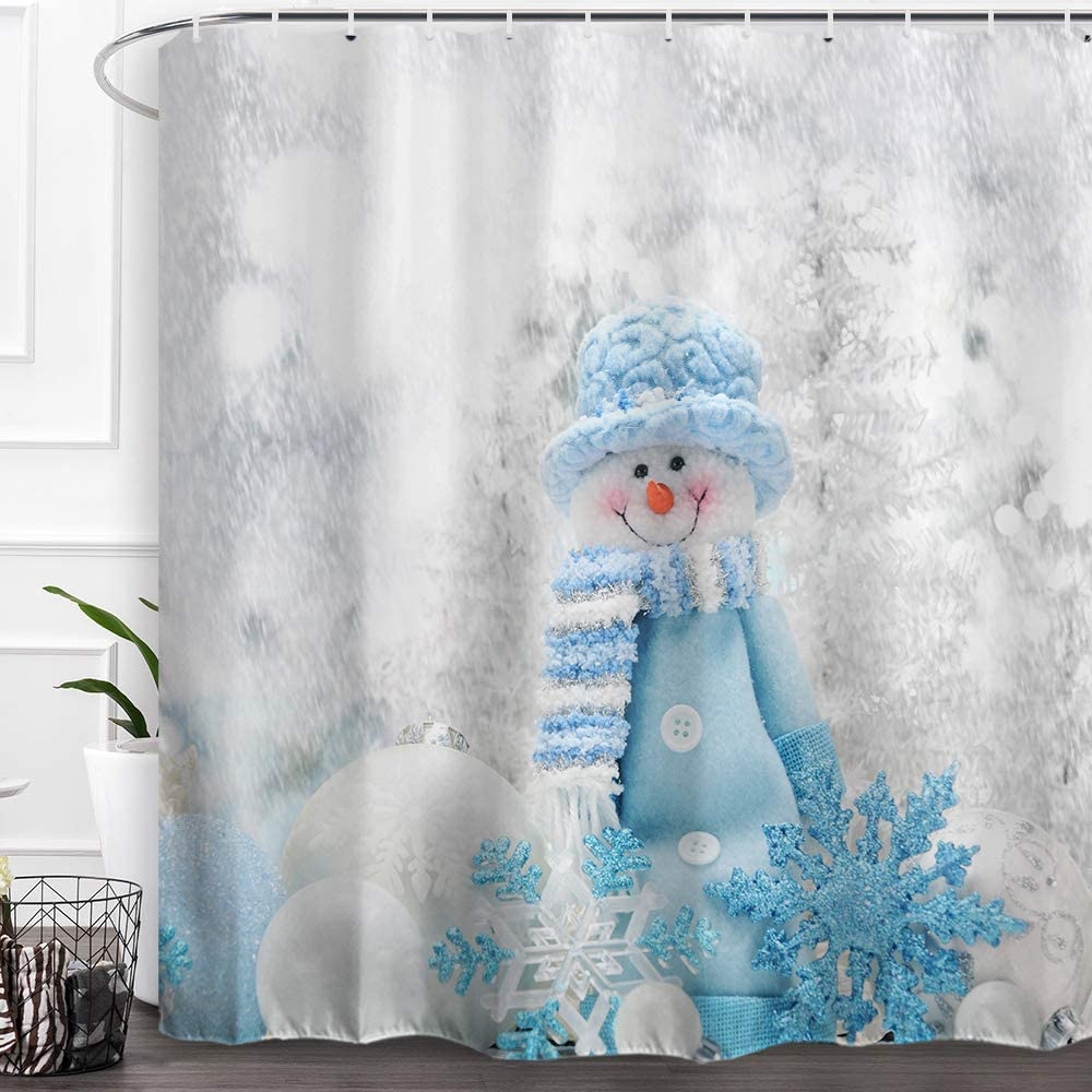 christmas shower curtains from amazon