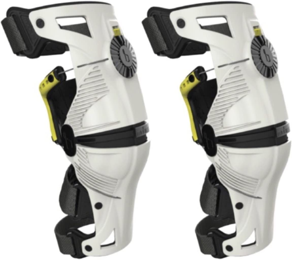 Mobius X8 Wrist Brace White//Acid Yellow Medium//Large
