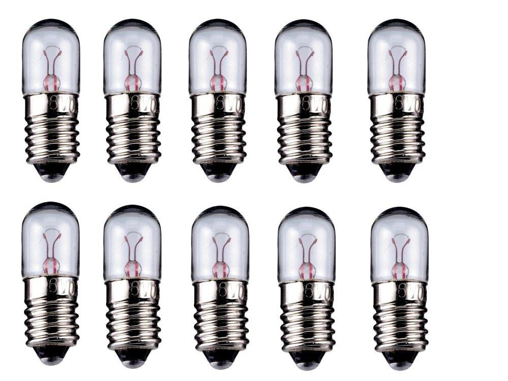 20er Set WireThinX Rö hrenlampe 2 W, 6,3 V - Sockel E10