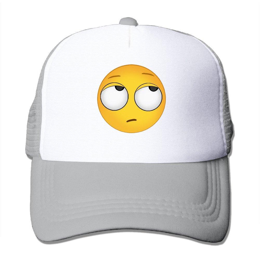 Rollo de ojos Emoji para hombre Cute snapbacks malla visera ...