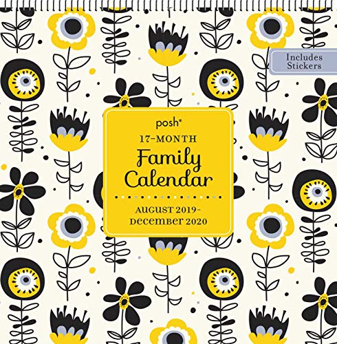 Posh: 17-Month 2019-2020 Family Wall Calendar from Andrews McMeel Publishing