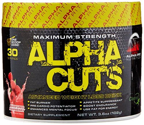 Alpha Pro Nutrition Raspberry Servings