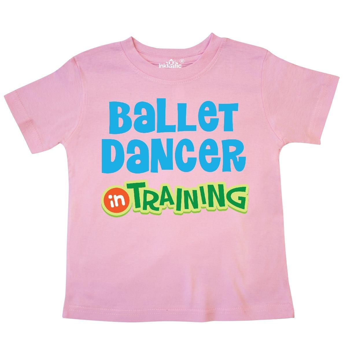 inktastic Ballet Dancer in Training Dance Toddler T-Shirt