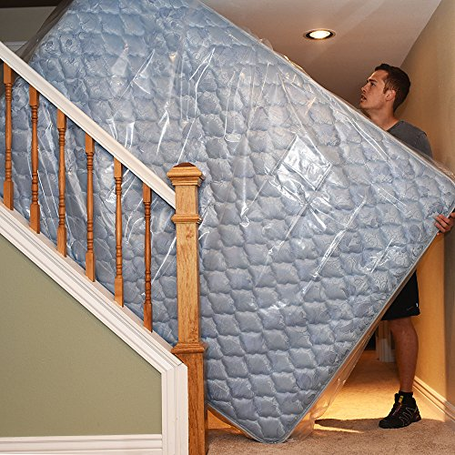 Mattress Bags : Heavy Duty 4 mil Thick Mattress Bag for ...