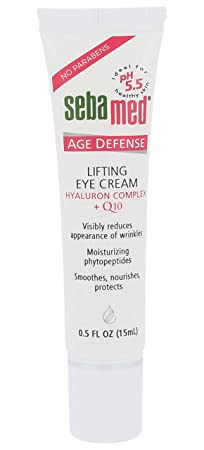 Sebamed Anti-Ageing Q10 Lifting Eye Cream with Botanical Phytosterols and lipid Complex, Visibly Reduces Appearance of Wrinkles. Paraben-Free, Dermatologist Tested Dermatologist Developed