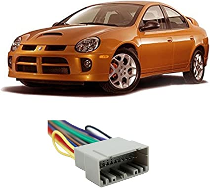 2005 dodge stratus radio wiring amazon com compatible with dodge neon 2002 2006 factory stereo to  dodge neon 2002 2006 factory stereo