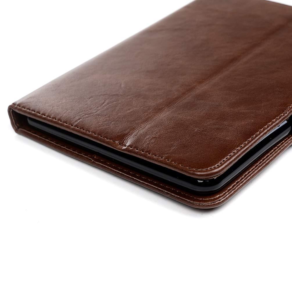 Etui Tablette PU+TPU Multi-Usage Cuir Silicone Support Antichoc Design Cr/éatif Magn/étique Housse Coque pour Kindle Paperwhite 10th Generation 2018 Rouge