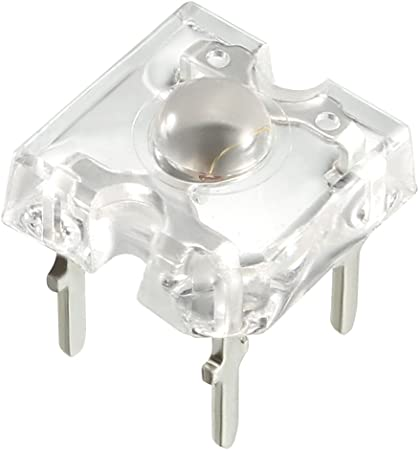 10 x White Piranha 5mm Super Flux LED Bulb