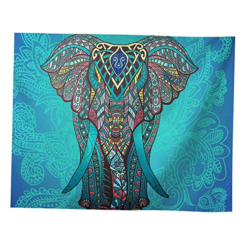 (florance jones Indian Tapestry Wall Hanging Decor Mandala Hippie Gypsy Bedspread Throw Bohemian   Model THRW - 1294   83&x 59&)