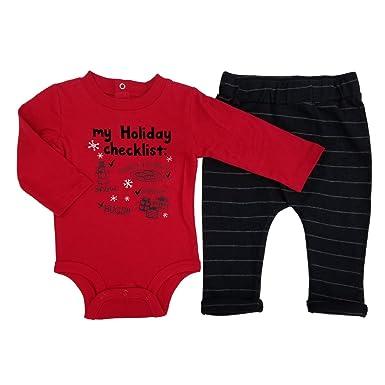 9e270c0af Amazon.com  Koala Baby Infant Boys 2-Piece Christmas Holiday ...