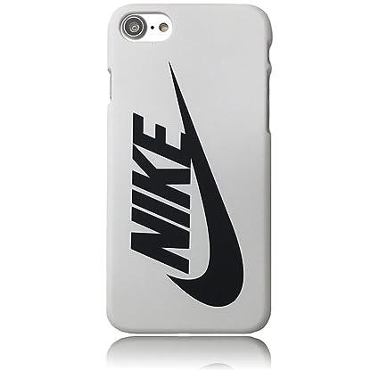 NIKE ナイキ iPhone7ケース アイフォン7 ナイキロゴ スウォッシュ スウッシュSwoosh ビッグロゴデザイン ハードカバー ホワイト