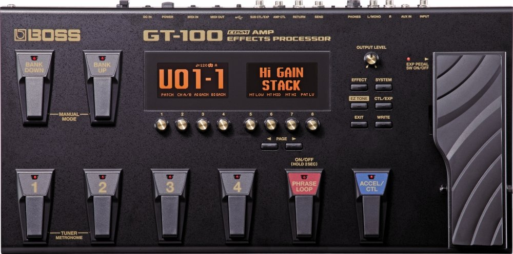 8 Best Guitar Multi Effects Pedals For 2019