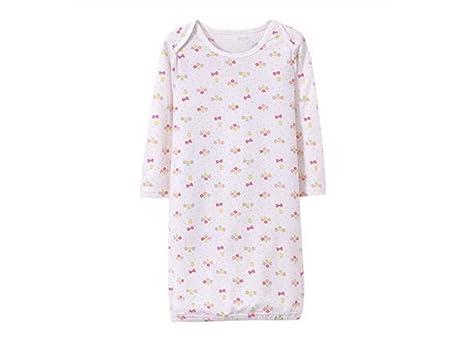 QWhing Suave y Acogedor Saco de Dormir para bebés recién Nacidos Estampados Florales Mochilas para niñas