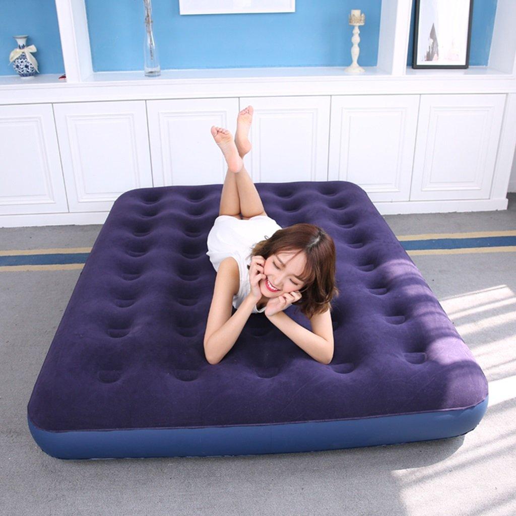 Ir bed Saco de Dormir Colchón de Aire Colchón Colchón Colchón Inflable Azul Que Espesa el Amortiguador de Aire Inflable del Almuerzo del Almuerzo (Size : 137191cm (53.975.2 Inches)) 38f8a5