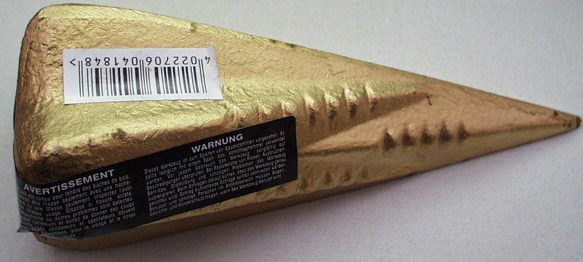 Spaltkeil 1,5kg Stahl geschmiedet Normex