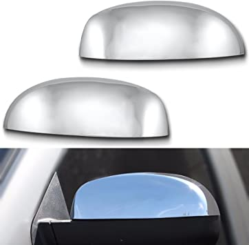 Replacement For Gmc Sierra Yukon Xl Denali 07-13 Chrome Mirror Cap Cover Left Driver Side