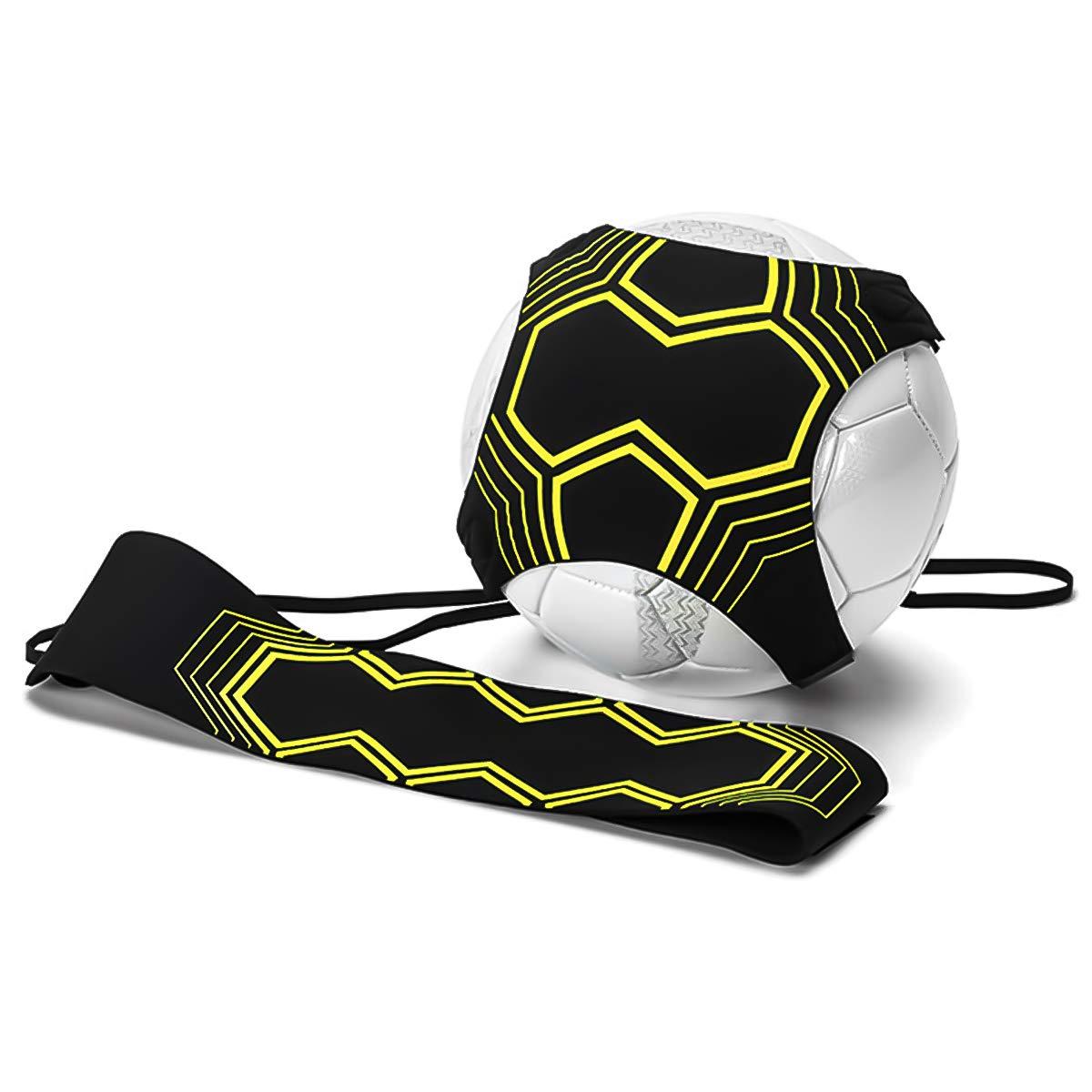 Ulable Fuß ball Kick Trainer Fuß ball-Solo-Skill-Ü bungs-Trainingshilfe zur Verbesserung der Fuß ballfä higkeite