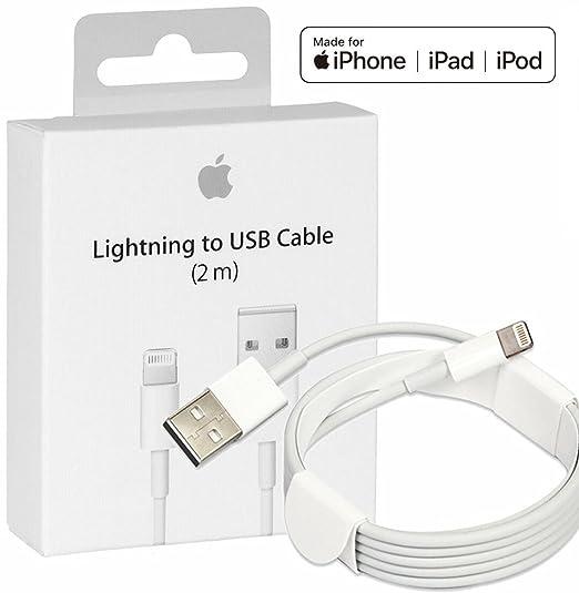 Apple Lightning To Usb Cable 2m Md819zma: Amazon.com: MD819ZM/A [Apple MFi Certified] Genuine Original rh:amazon.com,Design