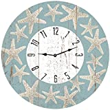 Starfish Beach Themed Clock- Starfish Wall Clock Review