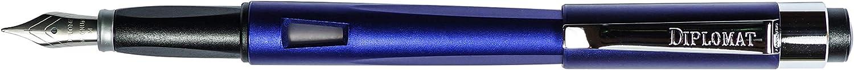Diplomat Pluma estilogr/áfica Magnum Aegean azul